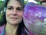 turnip selfie