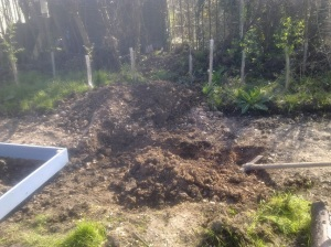 digging mess