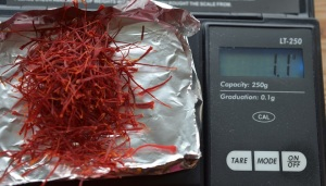 saffron harvest year 2