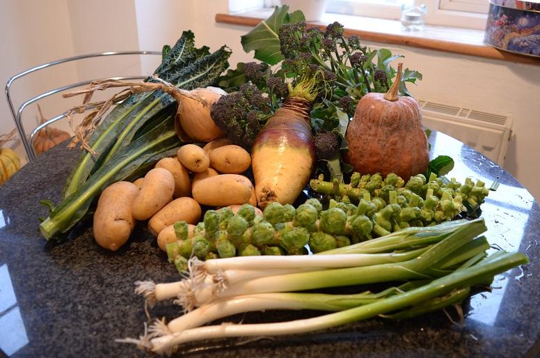 A Very Veggie Christmas.Wishing You A Very Veggie Christmas Mudandgluts