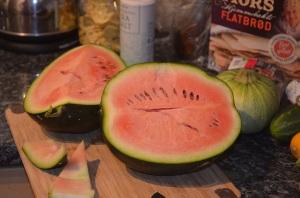 melon innards