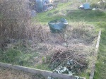 2012 - First day's work - clearances!