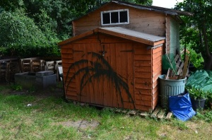 vandalised shed 1
